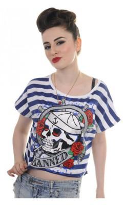 Sailor Skull On Blue