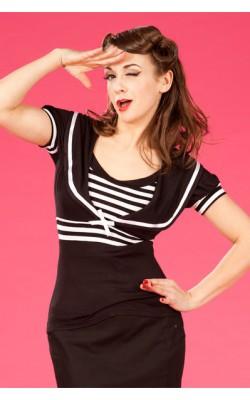 Dina-Lou Sleeved Sailor