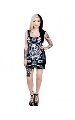 Bettie Dress Sailor Tattoo Flash