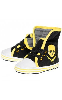 Skull And Bolt Sneakers
